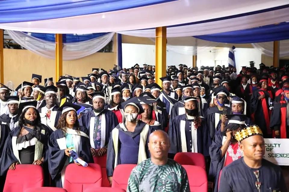 IAUE Graduates 3747 Students, 78 Bags 1st Class Honours