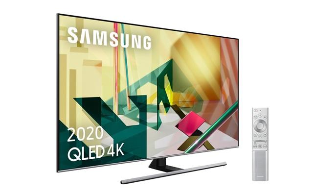 Samsung QE55Q75T: Smart TV 4K de 55'' con control por voz, Ambient Mode y Tizen