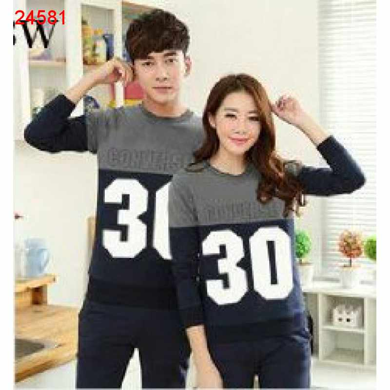 Jual Sweater Couple Sweater Converse Navy - 24581