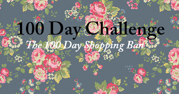 Challenge: The 100 Day Shopping Ban