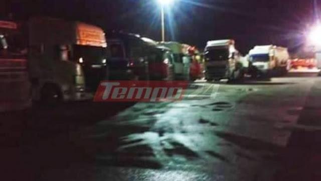 ΜΑΓΚΕΣ!! Με εξώδικο απαντούν οι οδηγοί στην Ολυμπία Οδό – Πατρών – Κορίνθου: Ακινητοποιήθηκαν εκατοντάδες νταλίκες