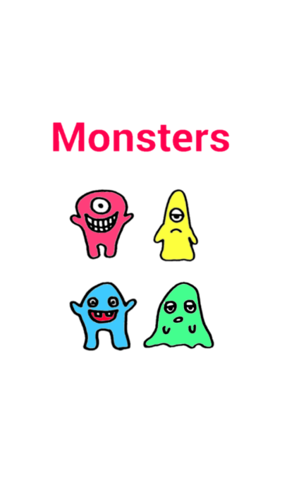 Colorful monster !