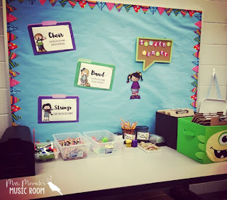 Student center: Can be used to organize pencils, papers, crayons, letters to parents, and more!