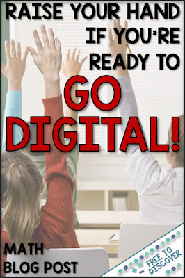 raise your hand if you're ready to go digital