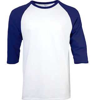 Jenis Kaus Polos Raglan
