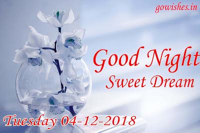 Good night wishes Image wallpaper 04-12-2018