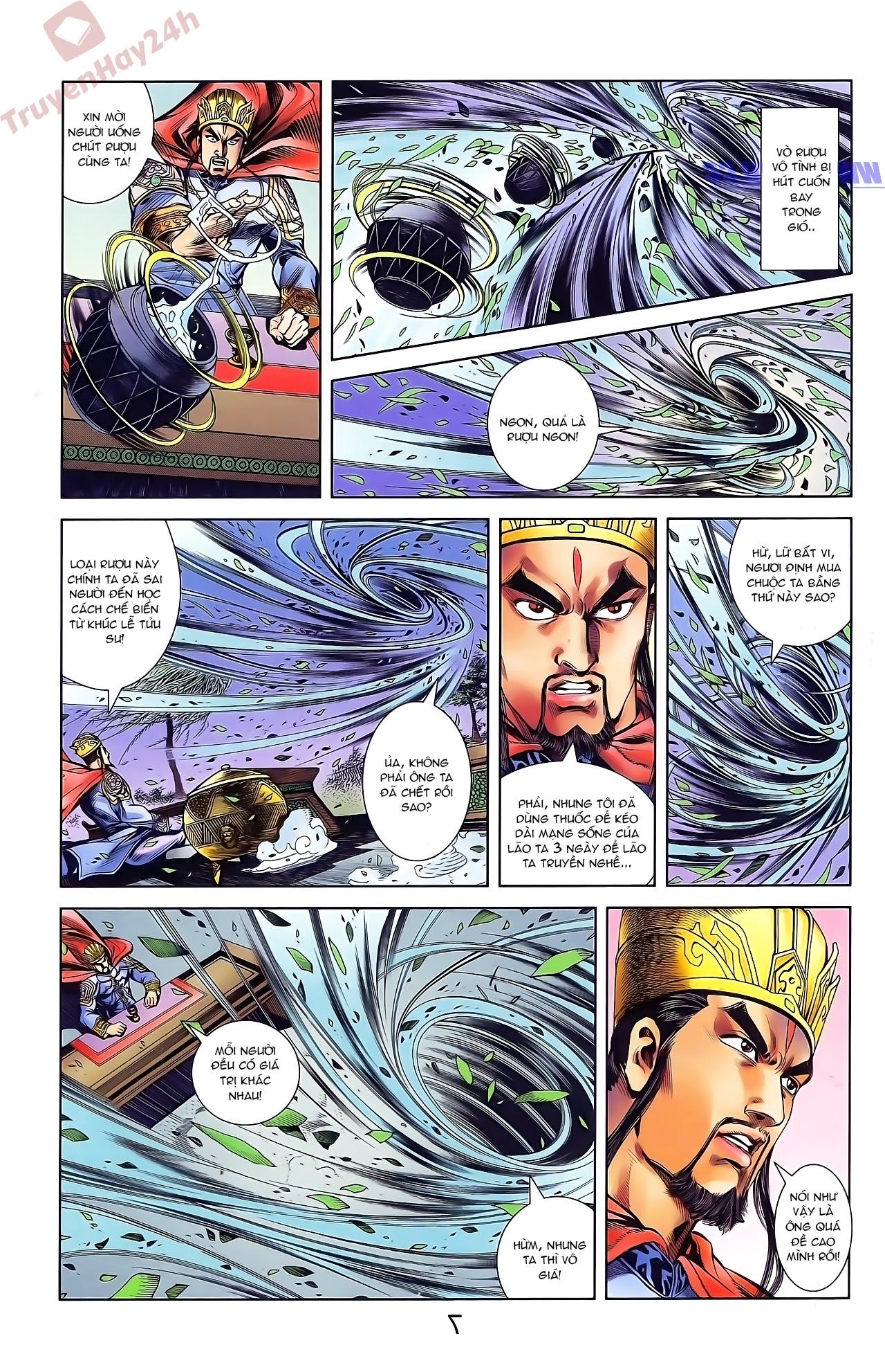 Tần Vương Doanh Chính chapter 42 trang 19