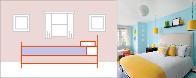 قم بطلاء جدران الغرفة الصغيرة بألوان فاتحة