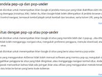 Bolehkah Memasang Iklan Popup dan Google Adsense Dalam Satu Blog? Dampaknya Apa?