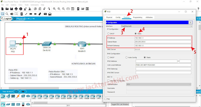 Cara Konfigurasi Router Di Cisco Packet Tracer