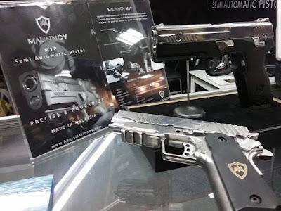 Pistol Buatan Malaysia