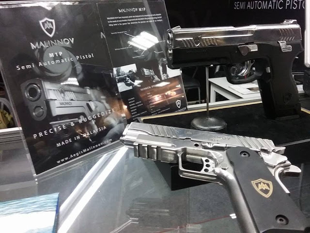 Pistol Buatan Malaysia Bakal Dijual Hujung Tahun Ini