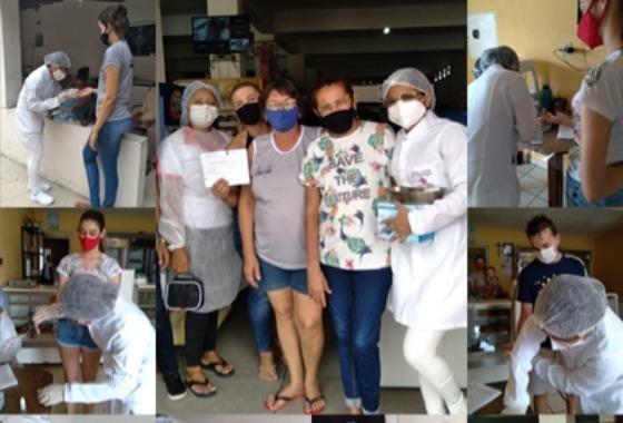 Secretaria de Saúde vai às ruas e realiza testes rápidos do Covid-19 no comércio de Cacimba de Areia