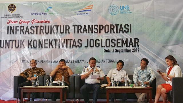 FGD Infrastruktur Transportasi untuk Konektivitas Joglosemar