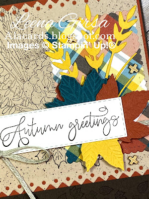 make a fall greeting card