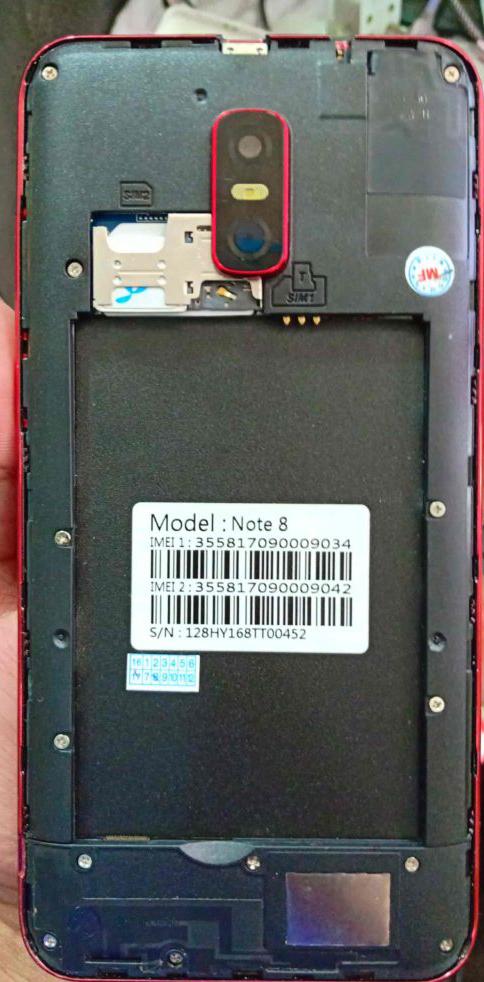 Samsung Clone Note 8 Flash File MT6580 5 1 LCD Fix Hang Logo