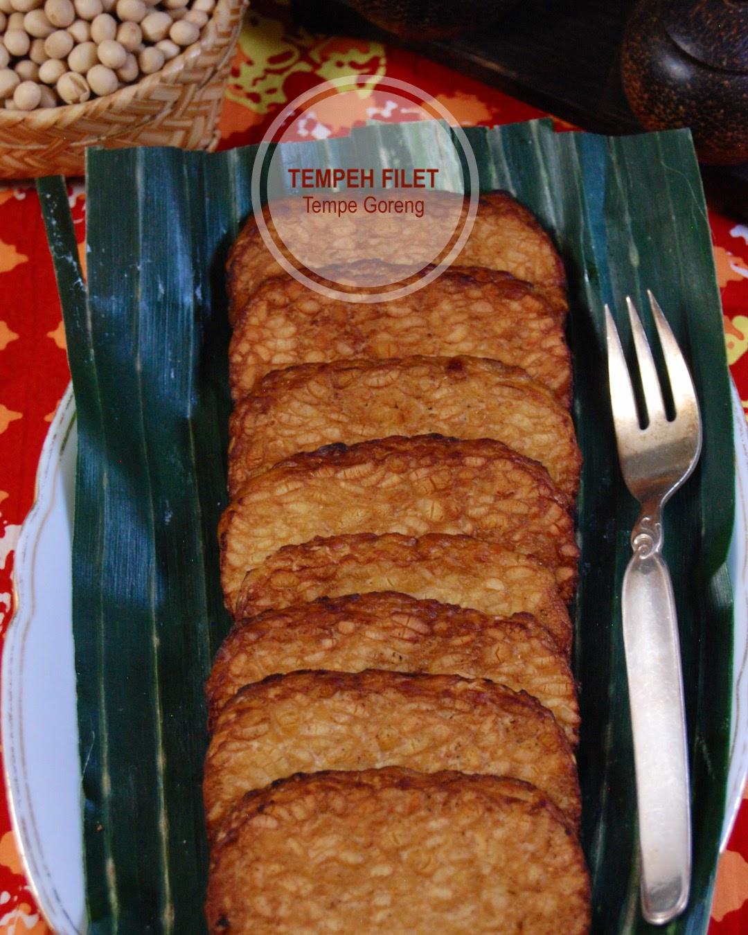 Rezept Tempehfilet, nämlich Tempe Goreng aus Indonesien