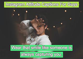 Instagram Attitude Captions For Guys