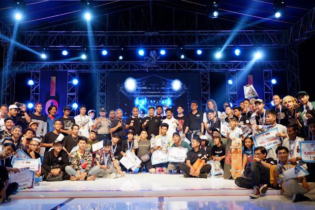 KodimKaranganyar – Bupati Karanganyar Tutup Kejuaraan Indonesia Open X-Sport Championship 2019