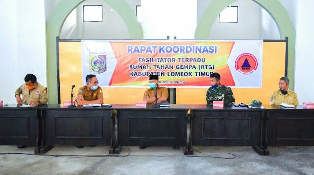 Bupati Lotim Target RTG Rampung Akhir Juli