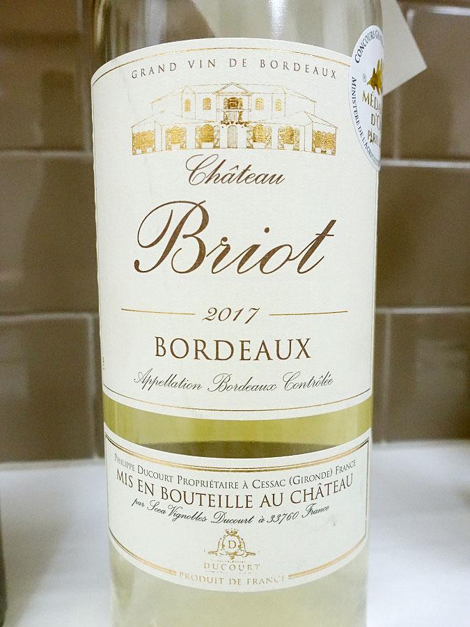 Château Briot 2017 (88 pts)