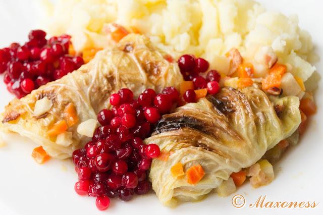 Голубцы из савойской капусты (kaldolmar). Скандинавская кухня