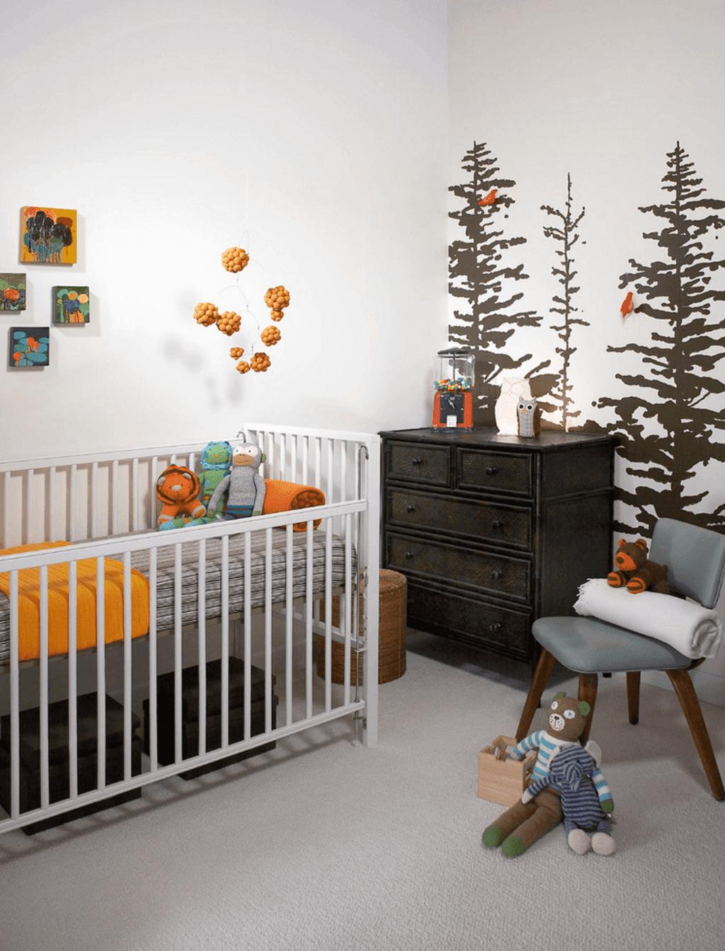 الوان وديكورات غرف نوم اطفال