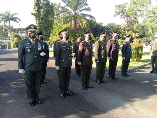 Upacara Ziarah Nasional Dalam Rangka HUT TNI Ke-76 Tahun 2021 Turut Dihadiri Dandim 0207/Simalungun