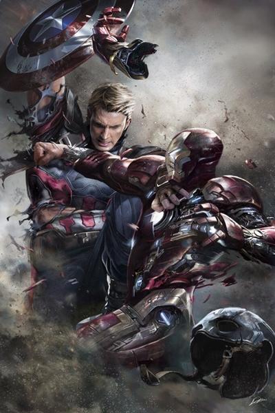 Arte Capitán América Civil War