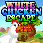 Games4King White Chicken Escape