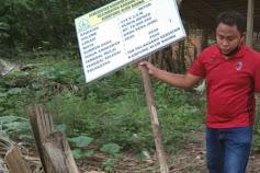 LAKI: Pembangunan Rabat Beton Desa Alur Baung 'Program ADD TA 2020' Diduga Tidak Bermutu dan Gunakan Pasir Tidak Berkualitas