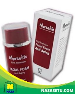 Moreskin First Premium Facial Foam Anti Aging 100ml