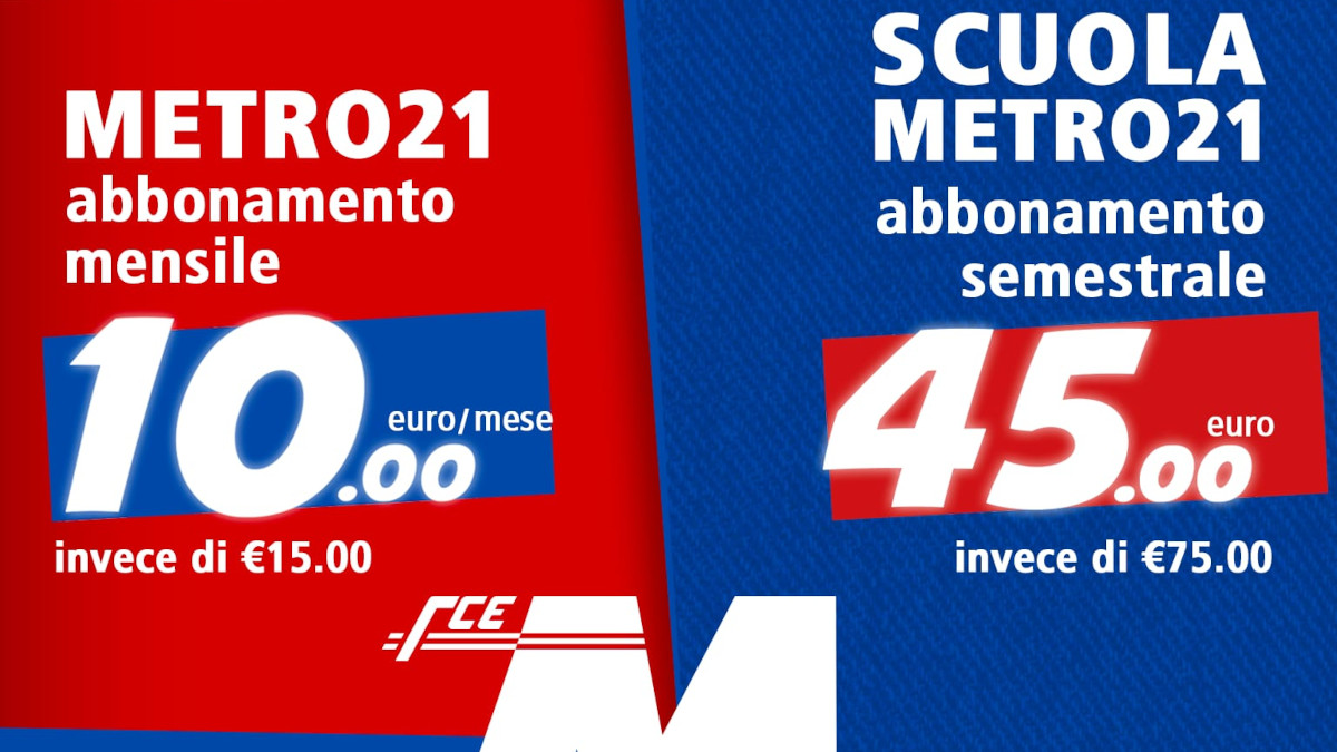 promozioni metropolitana Catania