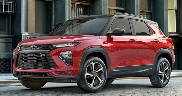 Burlappcar: 2021 Chevrolet Trailblazer