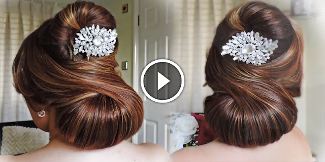 How To Create Elegant Bridal Hairstyle