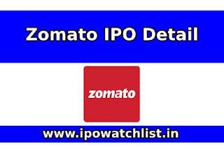 Zomato IPO Detail
