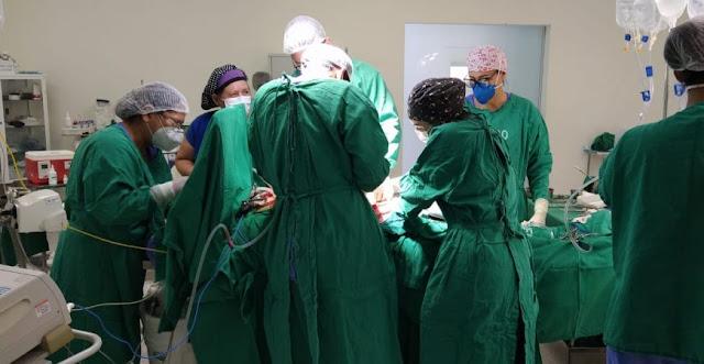 Hospital de Urgência e Emergência realiza a 2ª cirurgia de captação de órgãos neste ano, em Cacoal