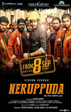 Fire Man Surya (Neruppu Da) 2017 Hindi Movie DTH 720p