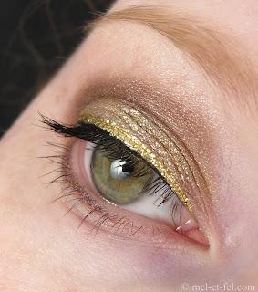 Goldiges Advents-Make up