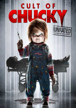 Cult of Chucky 2017 BluRay 900MB UNRATED English 720p Watch Online Full Movie Download bolly4u
