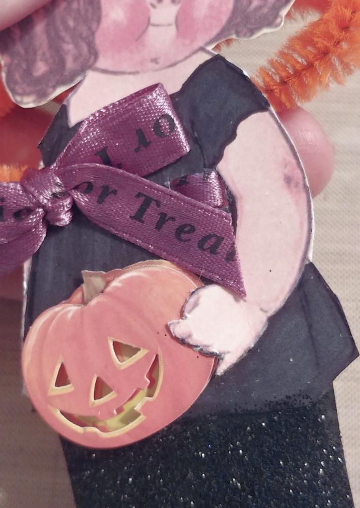 pumpkin embellishment