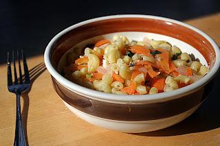 Festive Garlic Butter Pasta 3