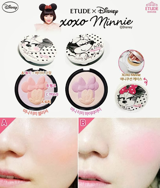 disney, etude minnie, xoxo minnie etude, jual etude murah, jual etude, review etude