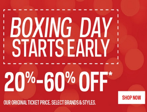 Sportchek Boxing Day Starts Early