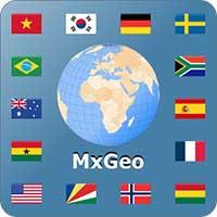 تحميل تطبيق World atlas & map MxGeo Pro 5.6.0 Apk for Android