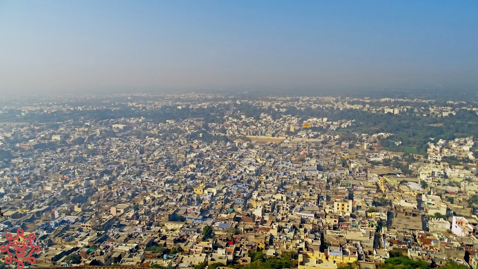 View of Chittorgarh City