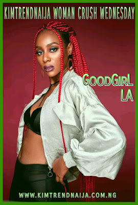 It's Woman Crush Wednesday, and today we have someone exciting to profile she's fresh, young, blessed with a magical voice, amazing vocals that touch the soul, plus she is very talented, which is well complemented with her gorgeous looks, am talking about GoodGirl LA.