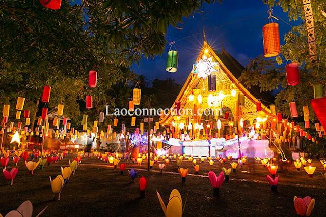 Awk Pansa in Luangprabang