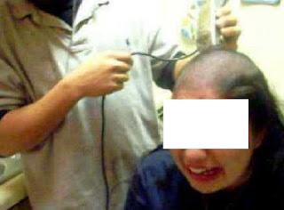 التحقيق مع أستاذة حلقت رأس تلميذ بشفرة حلاقة أمام زملائه بالقنيطرة
