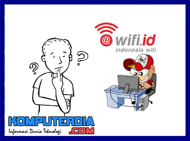 Cara Terbaru Internet Gratis Dengan Memanfaatkan Wifi.id